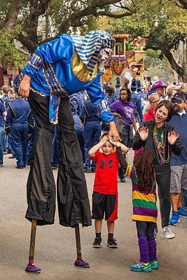 Thoth Photograph - Krewe Of Thoth Greeting by Thomas Lavoie