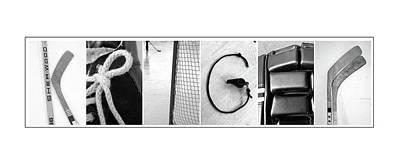 Photograph - Kriger Custom Alphabet Art by Kathy Stanczak