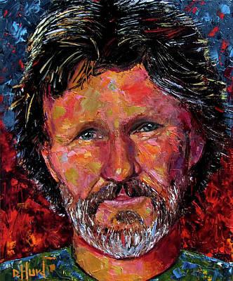 Painting - Kris by Debra Hurd