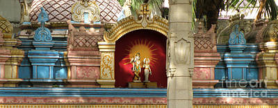 Parvati Digital Art - Krishna by Ric Ede