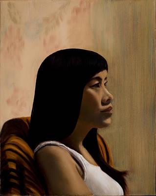 Painting - Kristie - 2010 by Serena Van Vranken
