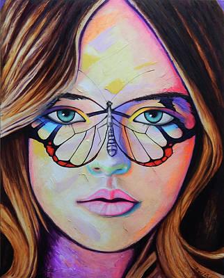 Painting - Kristina by Angel Ortiz