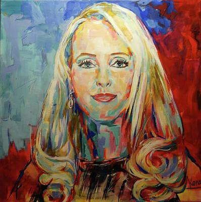 Painting - Kristina Bach by Koro Arandia