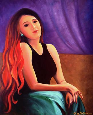 Painting - Kristina by Gina De Gorna
