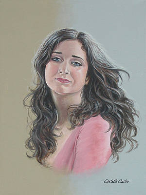 Painting - Kristina by JoAnne Castelli-Castor