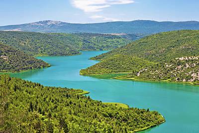 Krka River National Park View Art Print