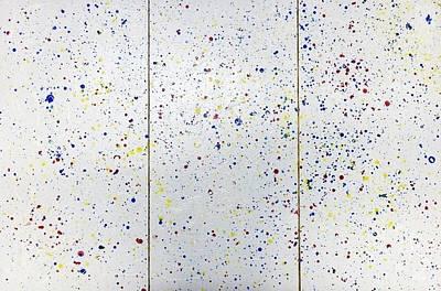 Abstract Painting - Krno3 by Ryuji Kogachi