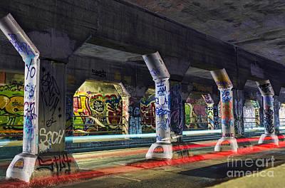 Photograph - Krog Street Tunnel by Eddie Yerkish