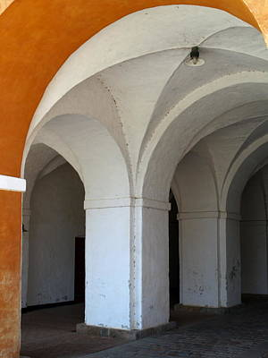 Photograph - Kronborg Arches by Michael Canning