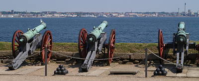 Photograph - Kronborg Cannons by Michael Canning