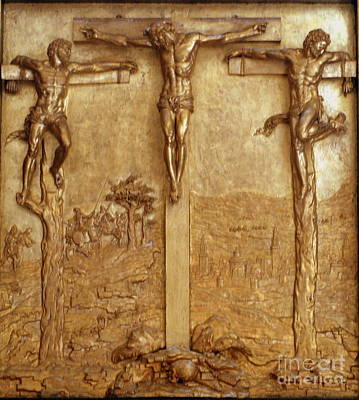 Photograph - Kronborg Crucifix by Michael Canning