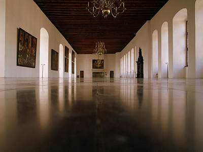Photograph - Kronborg Slot Ballroom by Michael Canning