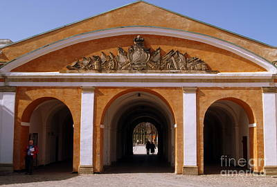 Photograph - Kronborg Slot Gate by Michael Canning