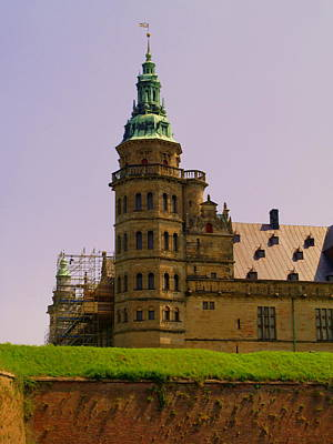 Photograph - Kronborg Slot Tower by Michael Canning