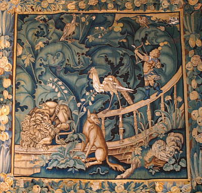 Photograph - Kronborg Tapestry by Michael Canning