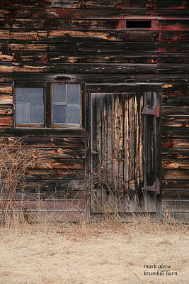 Photograph - Krumkill Barn by Mark Alesse