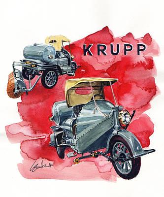 Krupp Street Sweeper Art Print