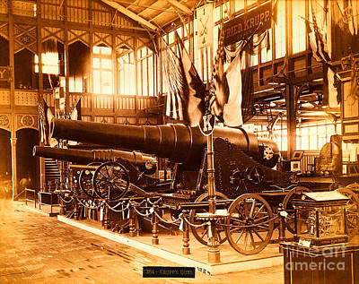 Photograph - Krupps Guns And Armaments At The 1876 Philadelphia Centennial by Peter Gumaer Ogden