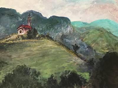 Krustova Gora Forest Of The Cross Art Print by Kri Rad