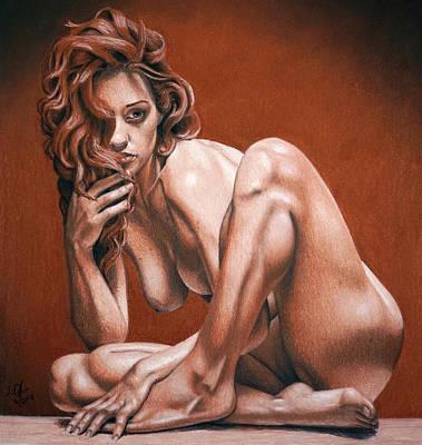 Painting - Krystal by Joseph Ogle