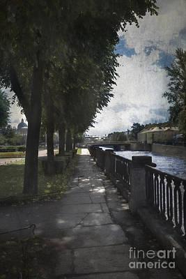 Photograph - Kryukov Canal by Elena Nosyreva