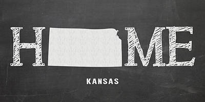Mixed Media - Ks Home by Nancy Ingersoll