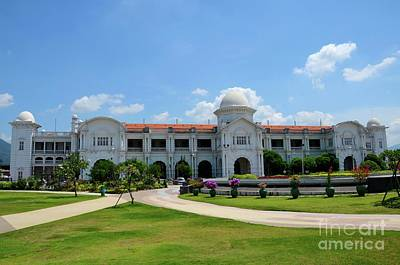 Photograph - Ktm Railways Train Station Ipoh Perak Malaysia by Imran Ahmed