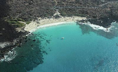 Photograph - Kua Bay Aerial by Denise Bird