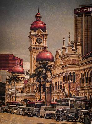 Photograph - Kuala Lumpur, Malaysia - Red Onion Domes by Mark Forte