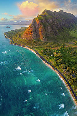 Photograph - Kualoa by James Roemmling