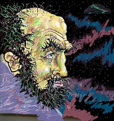 Kubrick Art Print by Wayne Monninger