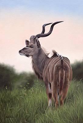 Painting - Kudu by Rachel Stribbling