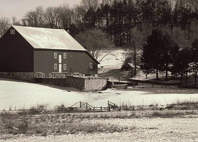 Andrew Wyeth Photograph - Kuerner Farm by Gordon Beck