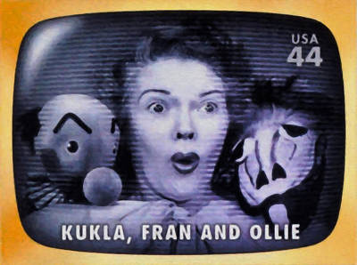 Ollie Painting - Kukla Fran And Ollie by Lanjee Chee