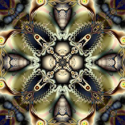 Digital Art - Kukui Nut by Jim Pavelle