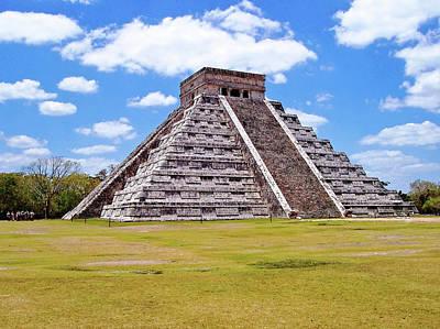Photograph - Kulkulkan Pyramid Chichen Itza by Debbie Oppermann