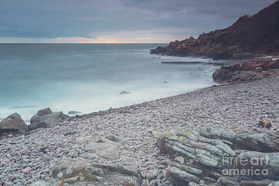 Photograph - Kullaberg Coast Long Exposure by Antony McAulay