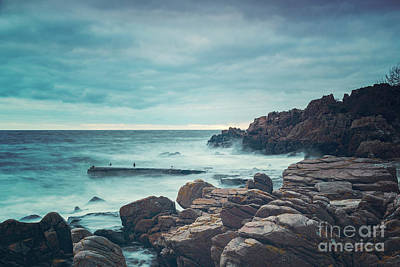 Photograph - Kullaberg Coastal Region Long Exposure by Antony McAulay