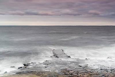 Photograph - Kullaberg Coastal Region Pier by Antony McAulay