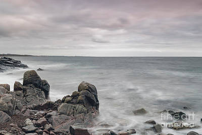 Photograph - Kullaberg Coastline Seascape by Antony McAulay