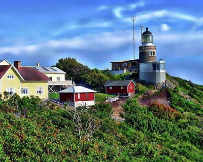 Photograph - Kullen Lighthouse by Anthony Dezenzio