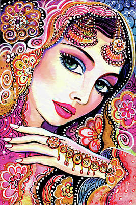 Painting - Kumari by Eva Campbell