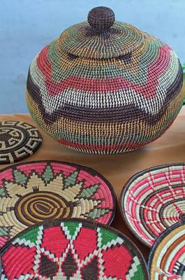 Photograph - Kuna Baskets  by Douglas Pike