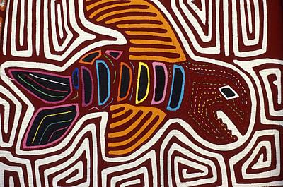 Kuna Fish Mola Panama Art Print
