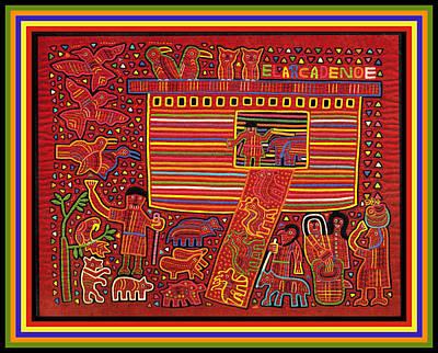 Digital Art - Kuna Indian Ark by Vagabond Folk Art - Virginia Vivier