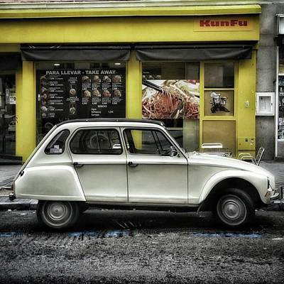 Car Wall Art - Photograph - Kunfu Car #2cv #dyane #dyane6 by Rafa Rivas