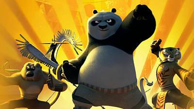 Kung Fu Panda 3 Art Print