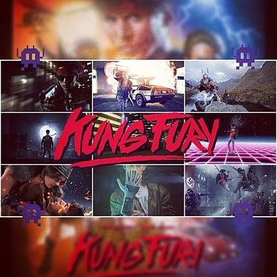 Cyberpunk Wall Art - Photograph - kung Fury Is Crazy! And Crazy Good! by XPUNKWOLFMANX Jeff Padget