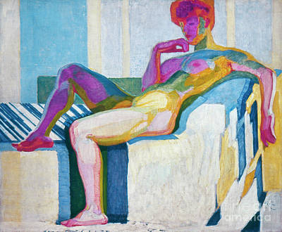 The Colored Woman Painting - Kupka Planes Nude by Granger