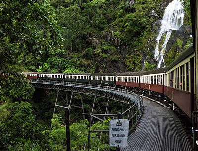 Photograph - Kuranda Senic Railway by Walt Sterneman